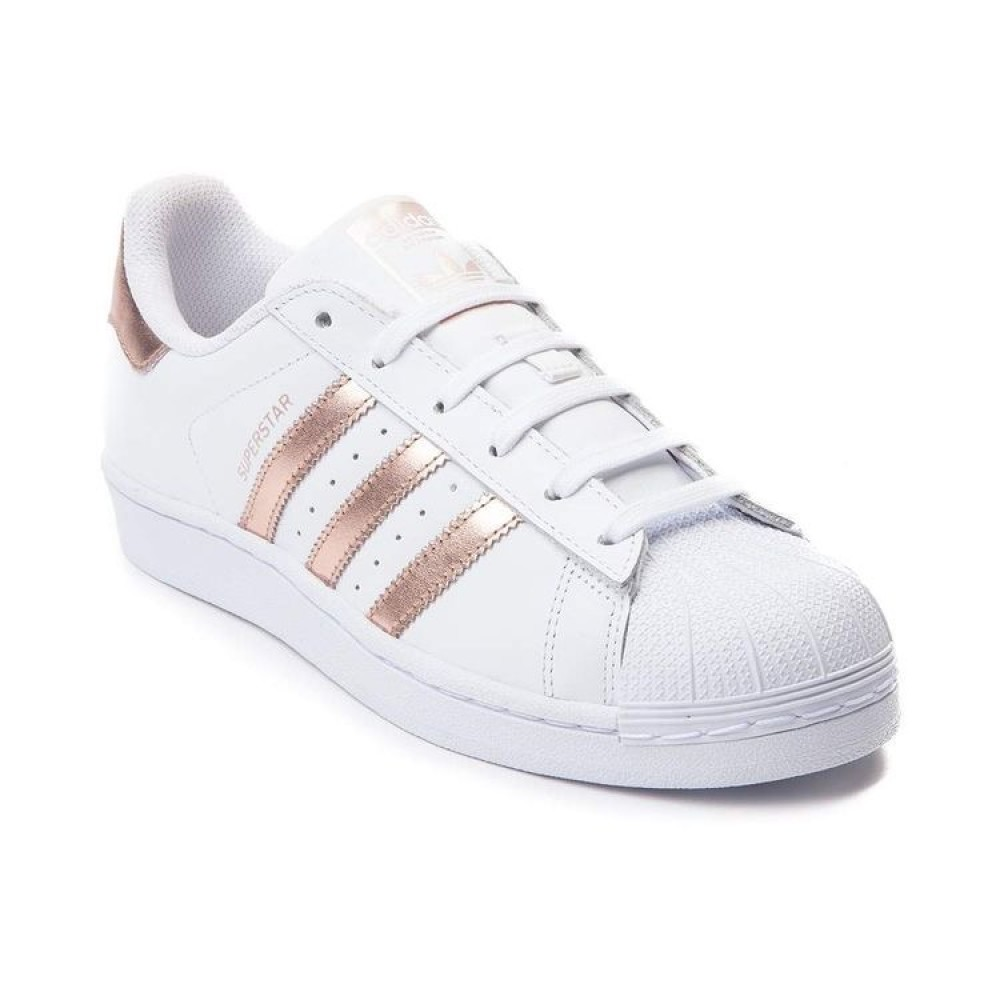 adidas superstar white with rose gold. Black Bedroom Furniture Sets. Home Design Ideas