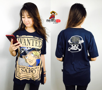 KAOS SABO WANTED NAVY image