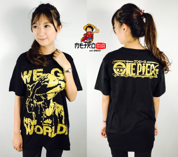 KAOS LUFFY NEW WORLD GOLD image