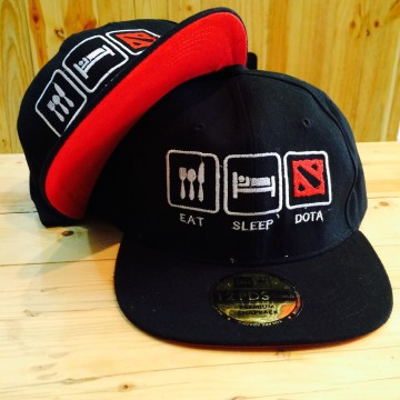SNAPBACK EAT SLEEP DOTA image