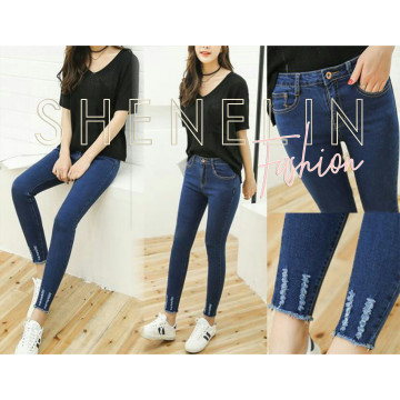 Paula long pants biru tua image