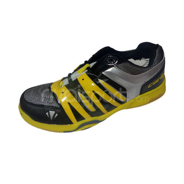 Sepatu Carlton Club 3000 (Black/Yellow/Silver) image