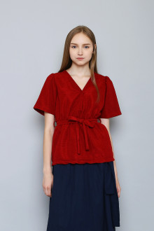 LILIAN TOP RED