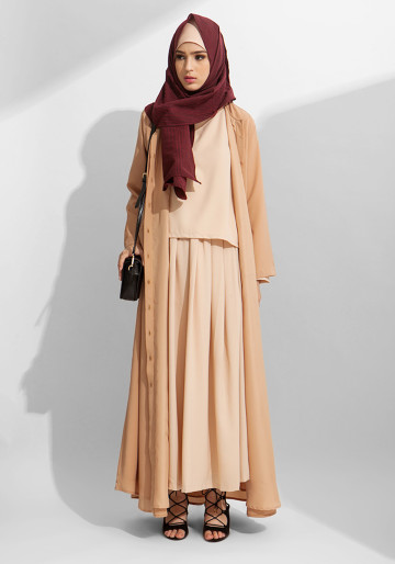CLASSIC ABAYA in MOCCA