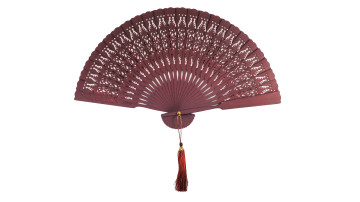 Traditional Fan Color Brown image