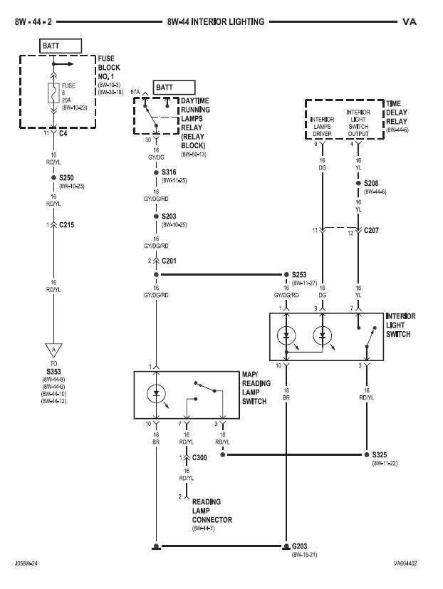 Wiring Diagram For Cargo Trailer Interior Lights : Connect interior lights to the house battery sprinter camper