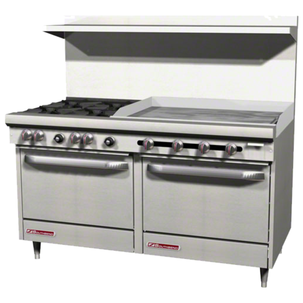 Commercial Gas Restaurant Ranges with Oven