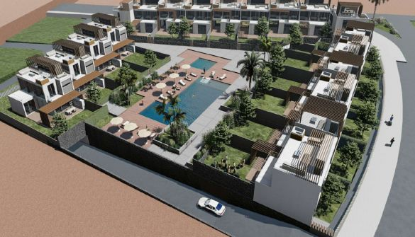 New Development of Luxury Villas in Los Cristianos