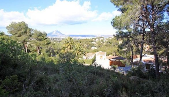 Plot For Sale in Javea-MPA2295