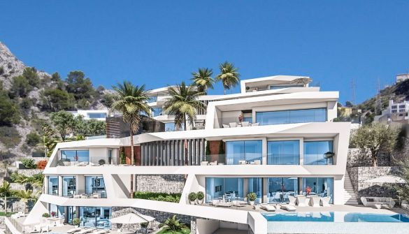 Luxury Villa in Altea, Altea Mascarat, for sale
