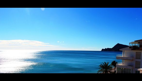 Penthouse in Altea, Cap Negret (1º linea), for sale