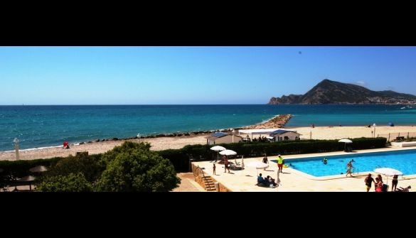 Apartment in Altea, 1ª linea de mar, holiday rentals