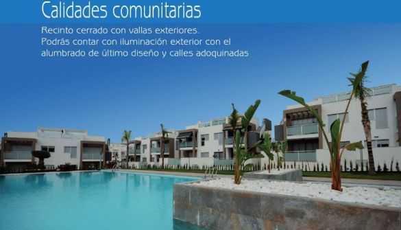 New Development of bungalows in Orihuela Costa
