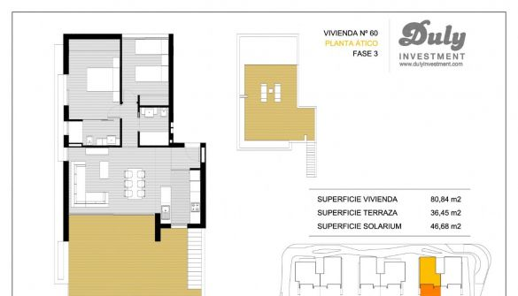 New Development of apartments in Orihuela Costa