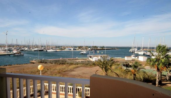 Apartment in La Manga, Los Miradores del puerto, for rent