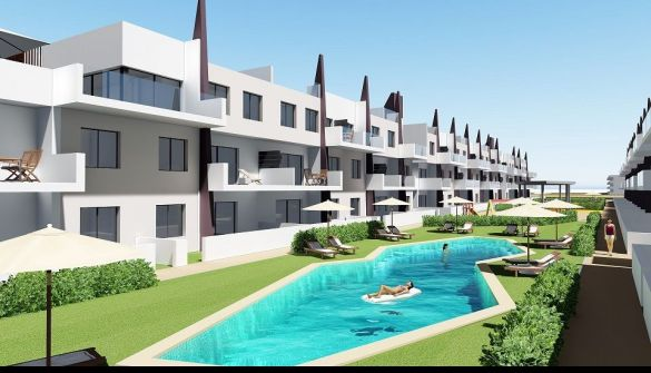 New Development of Bungalows in Mil Palmeras