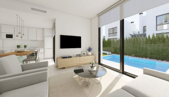 New Development of villas in Villamartin