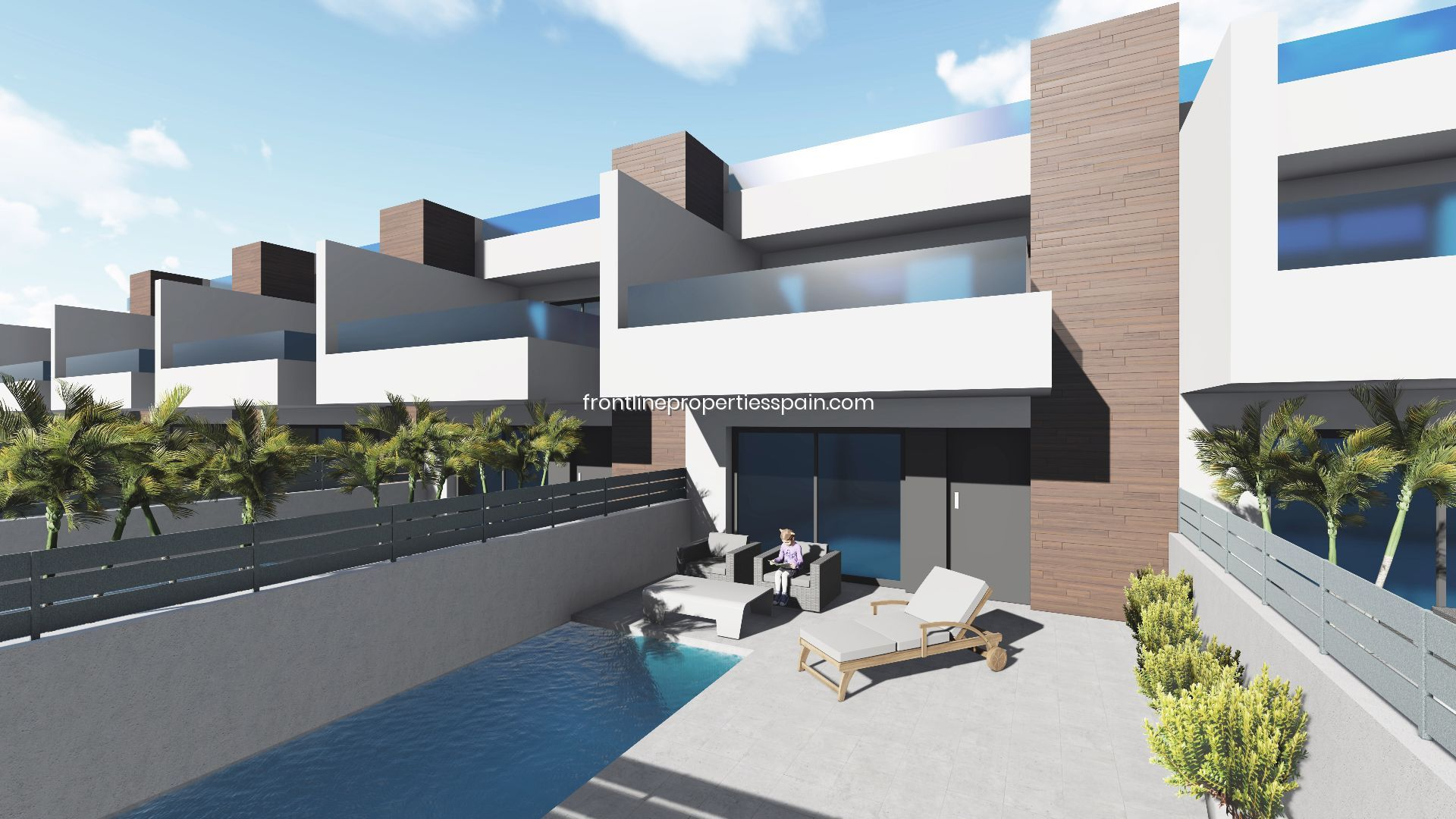 New Development of duplex in Benijófar