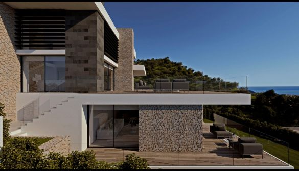 New Development of luxury villas in Moraira