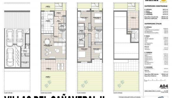 New Development of terraced houses in Madrid