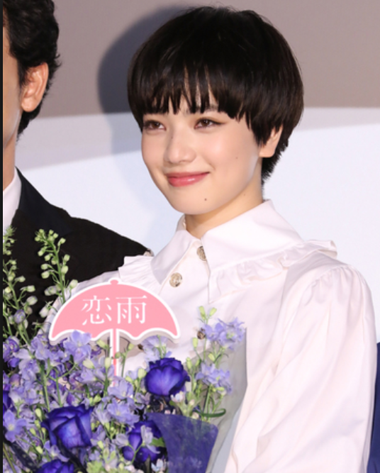 小松菜奈 髪型 ショート