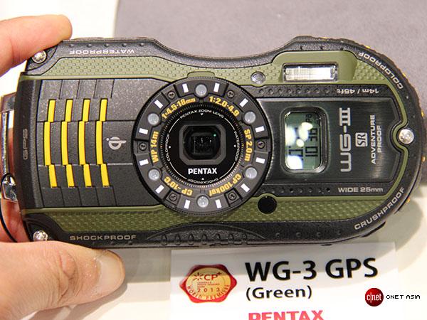 Đánh giá nhanh Pentax WG-3
