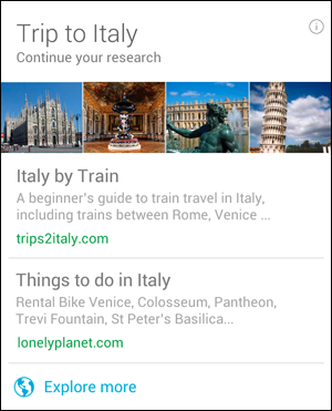 All The Cards That Google Now Supports