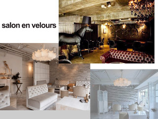 salon en velours メイン画像