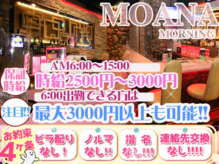 Morning Girls bar MOANA  メイン画像