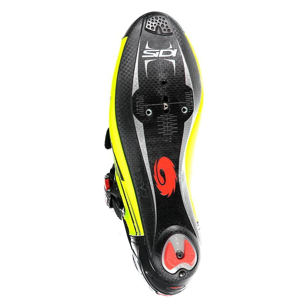 bike Sidi Genius 7 Yellow|Black T12895// Cycling shoes Unisex Yellow|Black Sidi