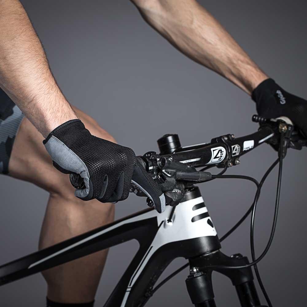 bike Gripgrab Shark Unisex Black T62966// Gloves Male Black Gloves GripGrab