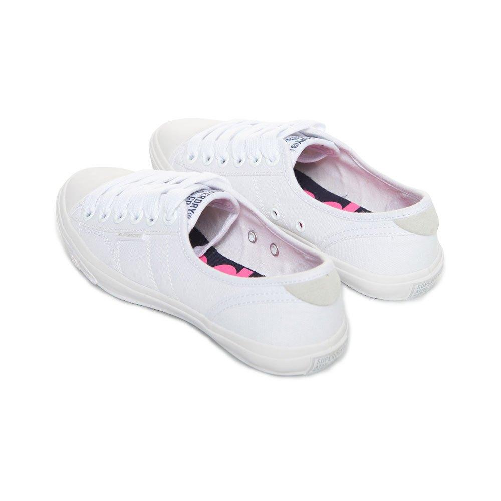 mode Superdry Low Pro Weiß T89082// Sneakers Frau Weiß Sneakers Superdry