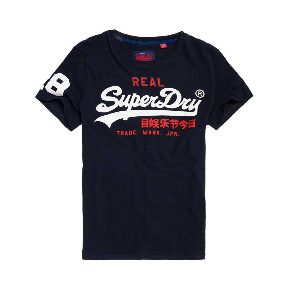SUPERDRY VINTAGE LOGO TRI T-SHIRTS HERRENKLEIDUNG BLAU T-SHIRTS
