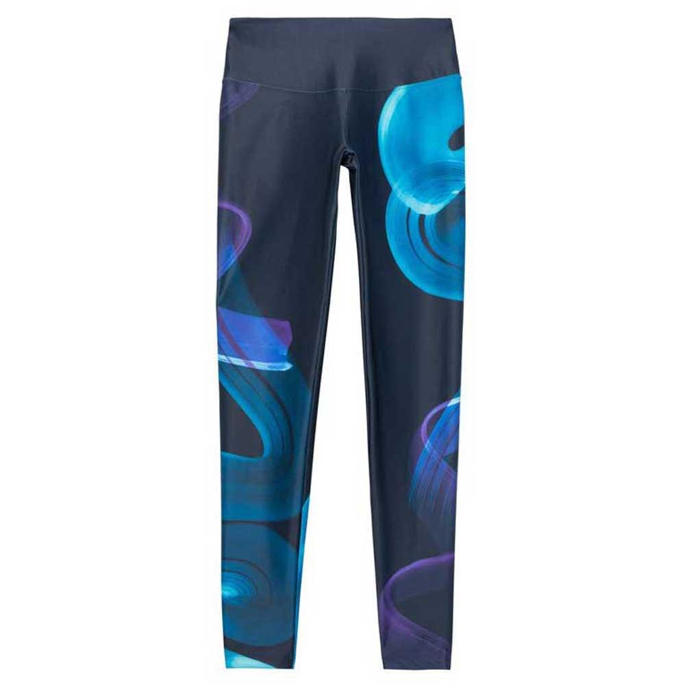 Desigual Legging Posicional Arty Multicolor T09048// Lauftights Frau Multicolor