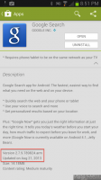 Google Search Android App Update 2.7.9.789824.arm released
