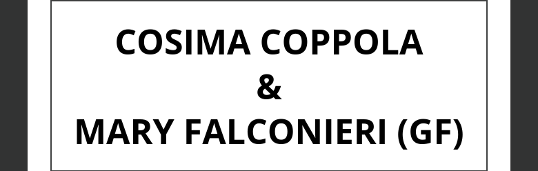 COSIMA COPPOLA&MARY                                      FALCONIERI (GF)