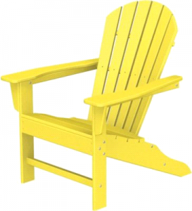 Yellow Muskoka Chair