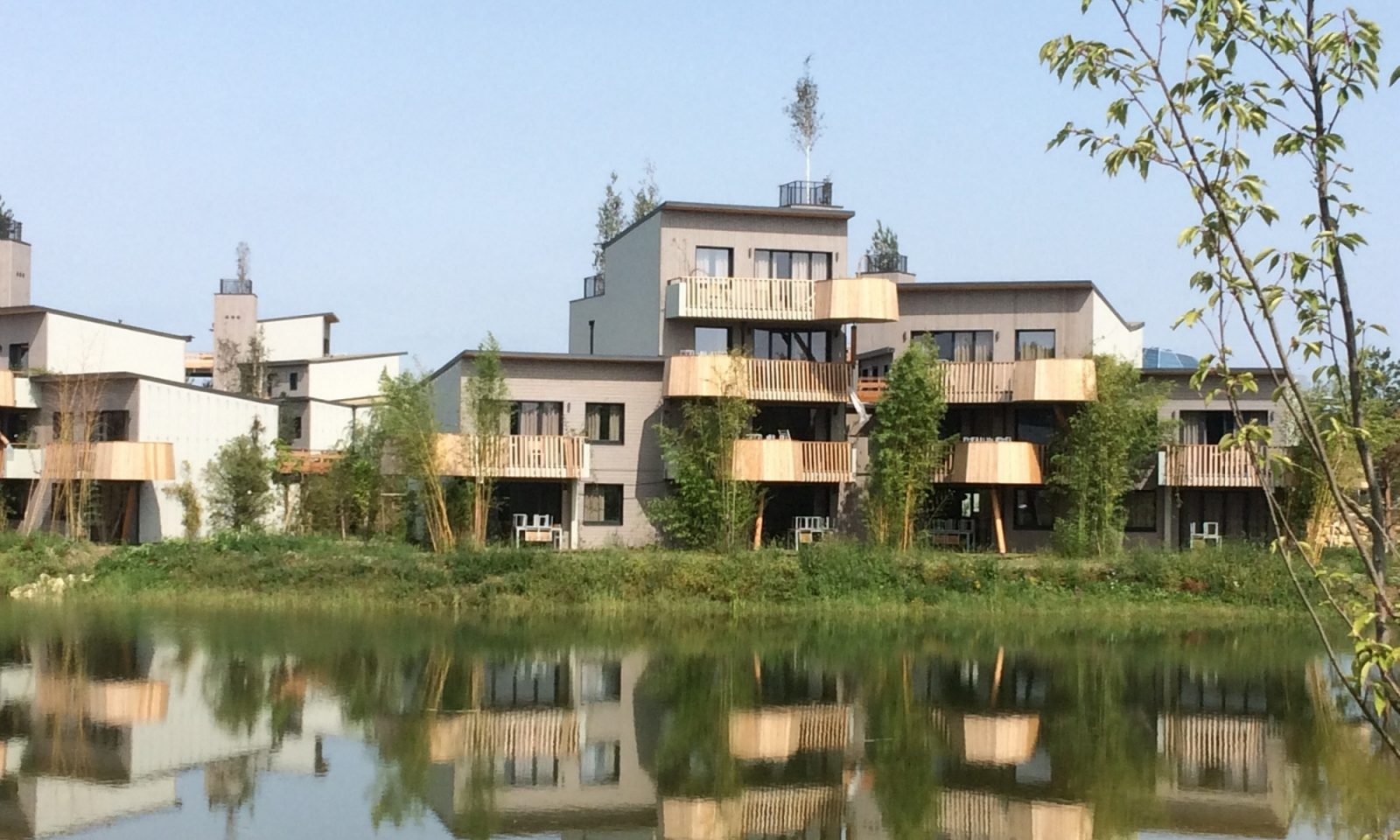 Appartements Vus Du Lac