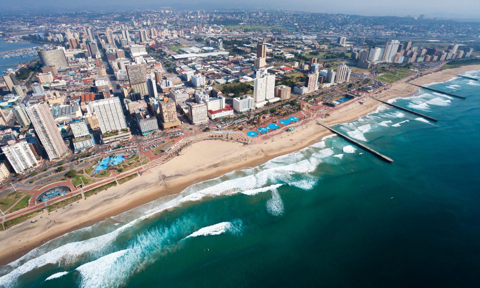 Durban aerial view