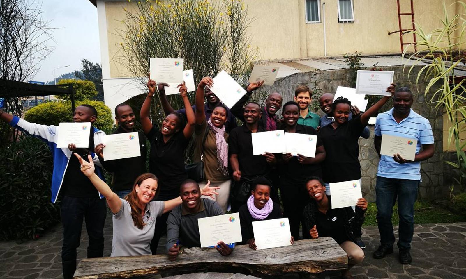 One Planet Living training Singita Rwanda