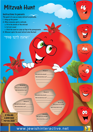 POSTER: The Mitzvah Hunt