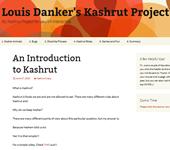 150-Louis Danker's Kashrut Project _ My Kashrut Project for Jewish Interactive
