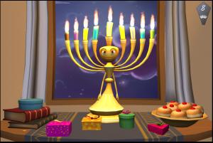 Menorah gifts - gratitude on Chanukah