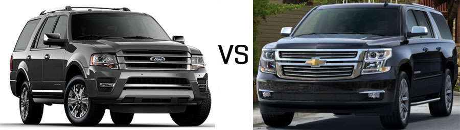 Ford Expedition Vs Chevrolet Suburban