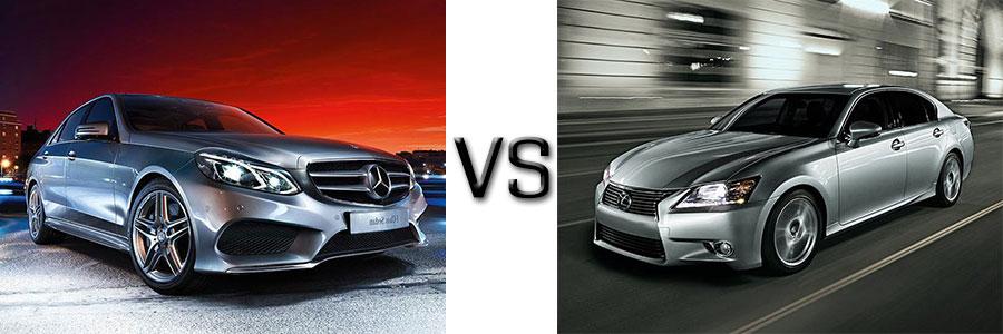 2015 e class vs lexus gs for Mercedes benz gs