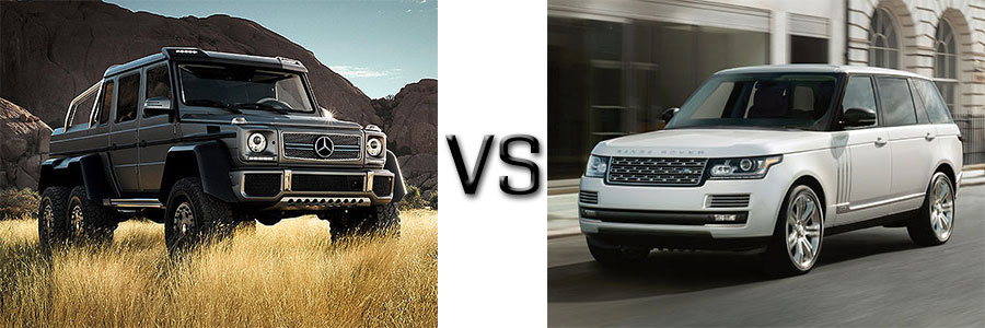 2015 g class vs land rover range rover for Mercedes benz rover