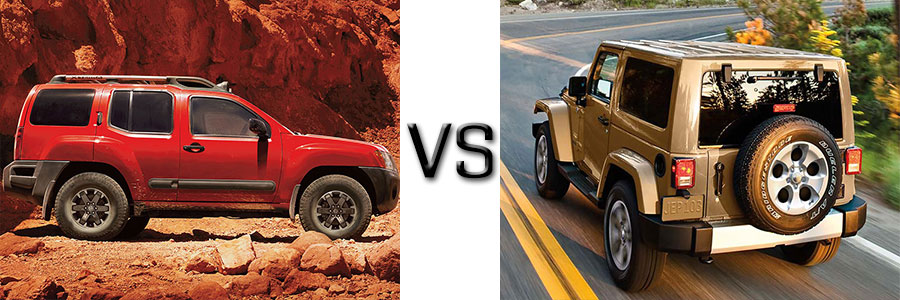 Xterra Vs Jeep Wrangler