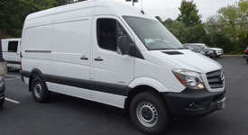 2015 Mercedes Sprinter Comparison