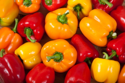 healthy fresh peppers