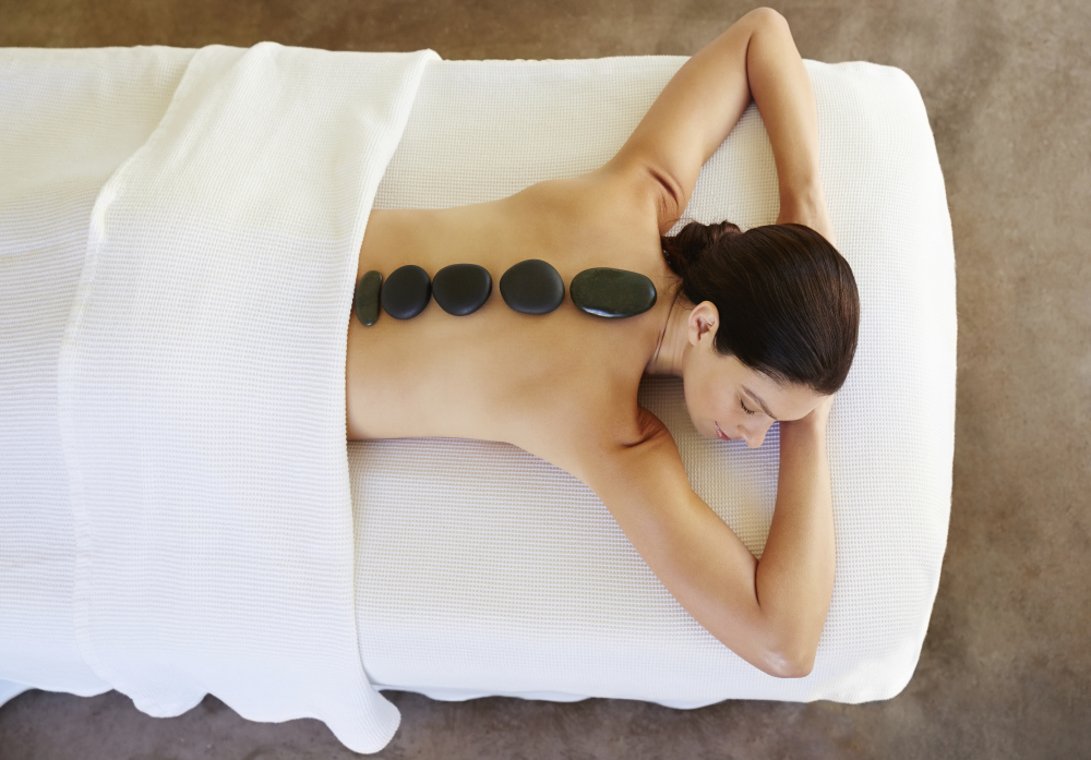 Massage, deep tissue massage, hot stone